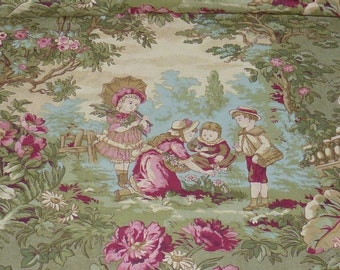 """One Yard of Quilt Cotton Fabric """"Captured in Time"""" by Robyn Pandolph for SSI  High Quality Quilt Cotton"""