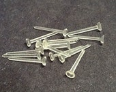 100pcs Plastic Earring Post Component with earring backs-5901J