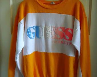 Vintage 80s GUESS Sweatshirt sz M