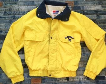 Camel Joe Cigarette -  Windbreaker Jacket - Size S