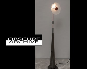 Rare ATELIER INTERNATIONAL Club Lamp - 1980's Italian Floor Lamp Designed by Pier Ramella