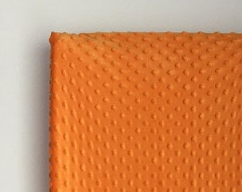 Orange - All Sizes Minky Sheets or Changing Pad - Standard, Mini, Pack N Play Sheet or Changing Pad Cover - Orange