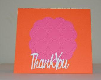 Moroccan Thank You Card