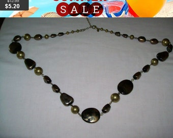 SALE 60% Off Chico's beaded necklace, long bead necklace