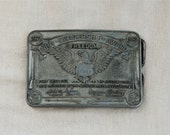 Vintage NRA belt buckle….NRA Leadership award for recruitment…National Rifle Association buckle.
