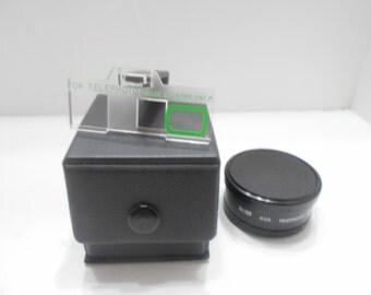 Vintage DeJur Aux. Telephoto Lens (17) Focus Range 10 Ft. to Inf.