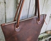 ADD ON ITEMS for all leather totes | Pocket | Zipper | Strap| Brown leather tote | brown leather bag | brown leather purse
