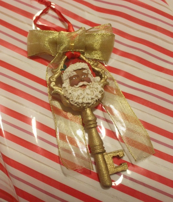 African American Santa Magic Key