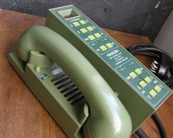 unusual ship, maritime Danish 'sailor' vhf radio telephone with base.display only,Free UK postage