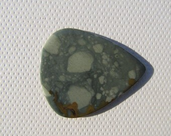 Rocky Butte Picture Jasper - Guitar Pick - Made of stone - For Sting Instruments