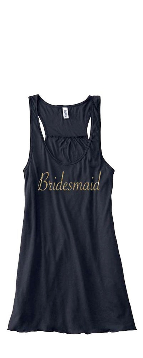 Bridesmaid Tank Tops, Bride Tank Top, Bridesmaid Gifts, Bridesmaid Shirts, Mother of the Bride Tank Tops, Bachelorette Party Shirts, Bride