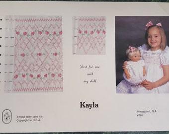 Kayla smocking design by Terry Jane
