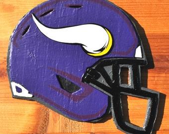 Minnesota Vikings Helmet Sculpture