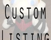 Custom Plush: Gareth Mallory