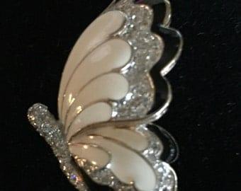 Vintage Panetta Butterfly Brooch