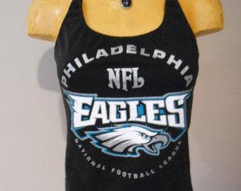 Philadelphia Eagles halter top DIY Football