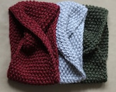 SALE , ready to ship, super chunky knitted cowl, adult