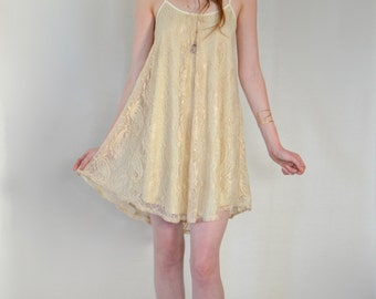 The Lily Dress in Taupe