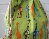 Knitting Project Bag, Gift Bag