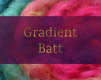 Gradient Batt - Spinning Batt Tutorial - Handspun Yarn Tutorial