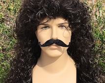 Couture Captain Hook Pirate Mens Curly Wig