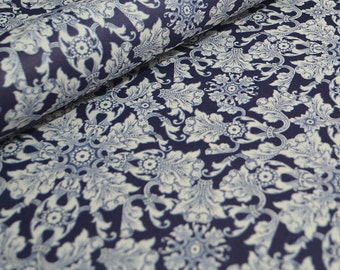 Italian Decorative Paper - Corniglia Blue