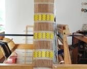 Handwoven wall hanging/ Weaving/ Cotton, Linen & Wool