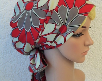 Hair bonnet, bad hair day scarf, elegant tichel, stylish head snood, women's full head covering, head scarf, hair wrap, made from polyester