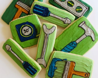 Tool Box / Tools / Father's Day Sugar Cookies with Buttercream Frosting
