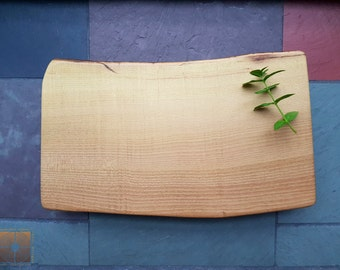 Black Locust Serving Board & Raised Cutting Board - Personalized Kitchen Anniversary Gift 741