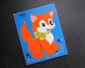 Playskool Puzzle Reddy Fox Vintage Toy Preschool 165-5