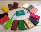 Monogram Crossbody and  Wristlet, Monogram Gift, Monogram Handbag, Monogram Clutch, Monogram Handbag, Personalizied crossbody, 3 pocket