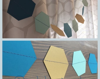 Mod Hexagon Garland