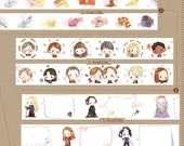 1 Roll of Limited Edition Harry Potter Washi Tape (Pick 1): Harry Potter's Items, Friends, or Dumbledore's Blank Bubbles