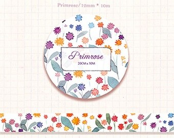 1 Roll of Limited Edition Washi Tape: Primrose