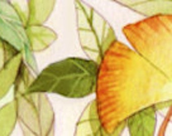 1 Roll of Limited Edition Washi Tape- LEAVES