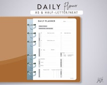 Exceptional image inside large daily planner