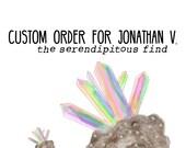 Custom Listing for Jonathan V.