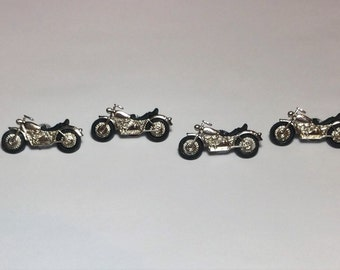 Motorcycle Push Pins or Magnets