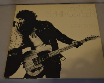 Vintage Gatefold Record Bruce Springsteen: Born to Run Album JC-33795