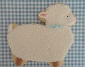 Baby Lamb Cookies