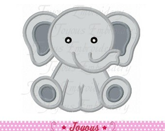 Instant Download Elephant Applique Machine Embroidery Design NO:2210