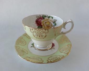 Teacup Queen Anne Fine Bone China England