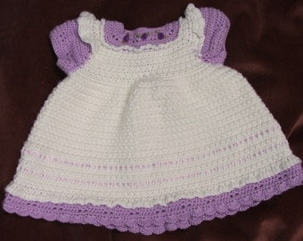 Little Lady Crochet Dress