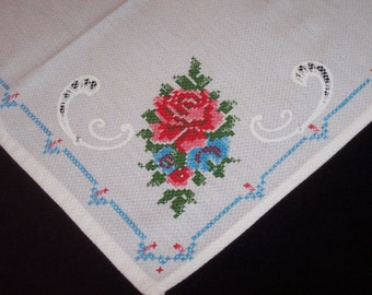 "One 15"" x 18""  Doily, Table Runner, Napkin, Gift, Collecting, Crafts, Framing, Projects, Mid century, DISCOUNT for  MULTIPLE Items"