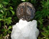 B4 Energy Art Copper Tube Orgone / Chi /  Ki / Prana life force energy Peace Symbol!