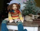 Waldorf Doll Boy - Boy Waldorf Doll - Stiener Doll - Sparrowhawk