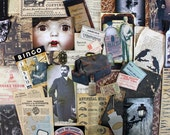 Halloween Inspiration Kit*The Doctor Makes House Calls*Vintage Spooky Medicine Remedies