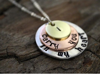 Layered Disk Necklace
