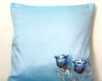 Sky Blue Pillow, Solid Blue Pillow, Outdoor Pillow, Pastel Blue Throw PIllow, Blue Pillow Cover, Blue Cushion, Decorative PIllows